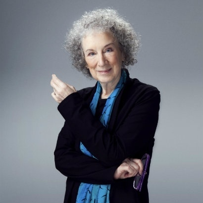 picture of Canadian author Margaret Atwood