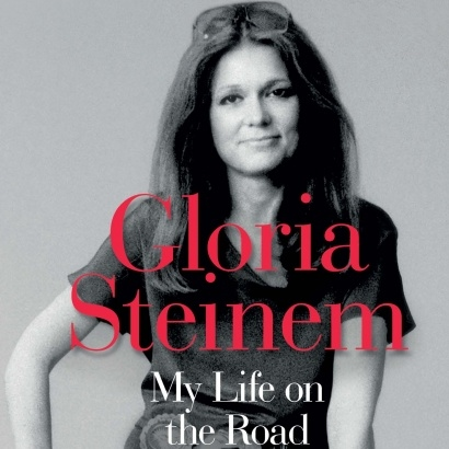 Cover of Gloria Steinem My Life on the Road