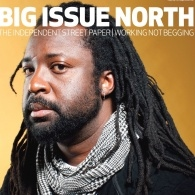 Big Issue front cover featuring Marlon James