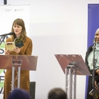 Preview of Clare Pollard & Asha Lul Mohamud Yusuf on stage