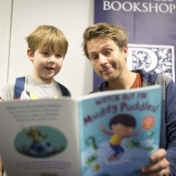 Preview of Ben Faulks signing books