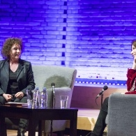 Preview of Jeanette Winterson & Nigella Lawson on stage