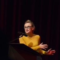 Preview of Maxine Peake on stage