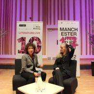 Preview of Jeanette Winterson & Rebecca Solnit on stage