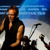 John Robb performs in The Membranes at The Universe Explained