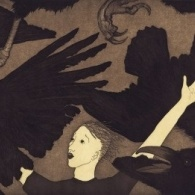 Image from The Raven Girl by Audrey Niffenegger