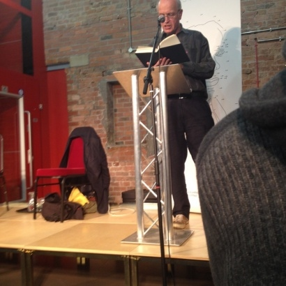 Author Iain Sinclair onstage  at MLF13